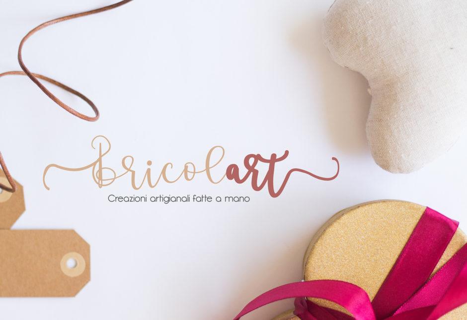 bricolart branding logo shabby chic artigianato salerno