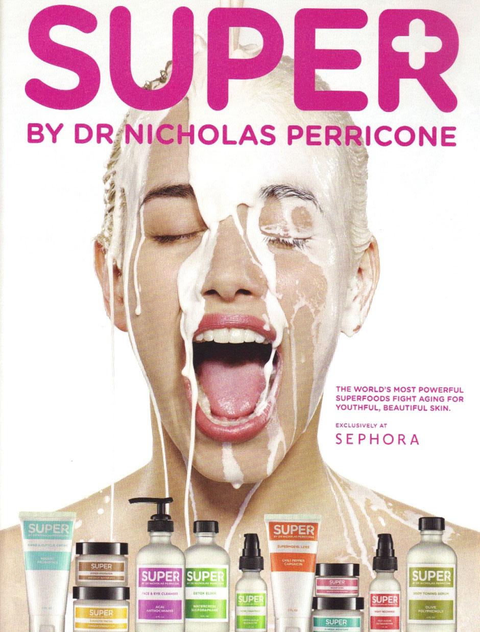 locandina presentazione prodotti super perricone md