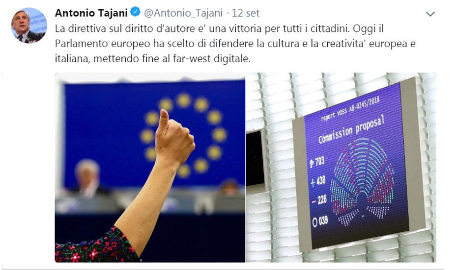 antonio-tajani-direttiva-copyright