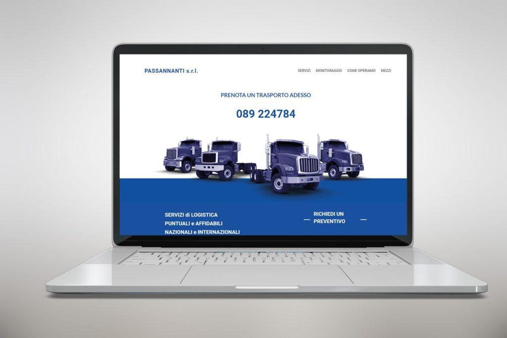 homepage di passannanti srl - logistica nazionale e internazionale